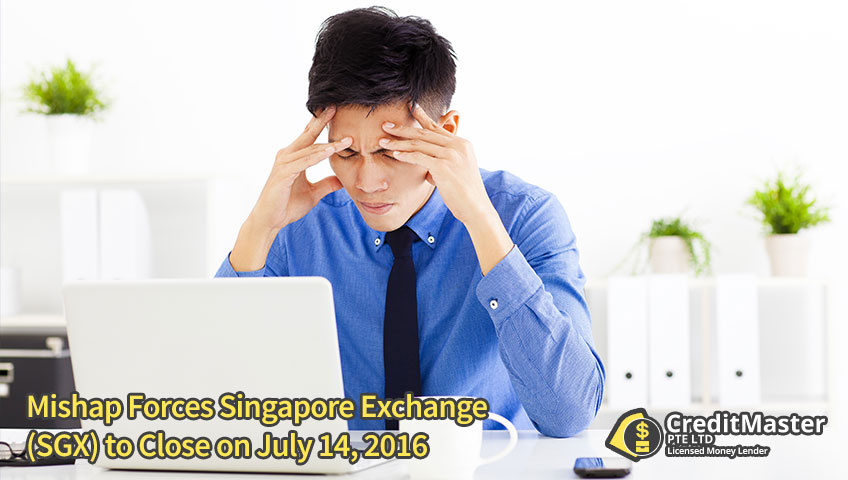 Mishap Forces Singapore Exchange (SGX) to Close on July 14, 2016