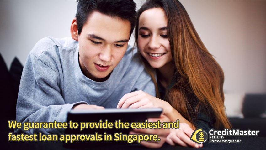 We guarantee to provide the easiest and fastest loan approvals in Singapore.