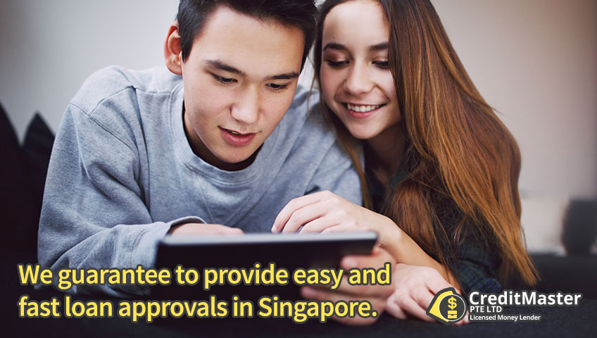 We guarantee to provide easy and fast loan approvals in Singapore.