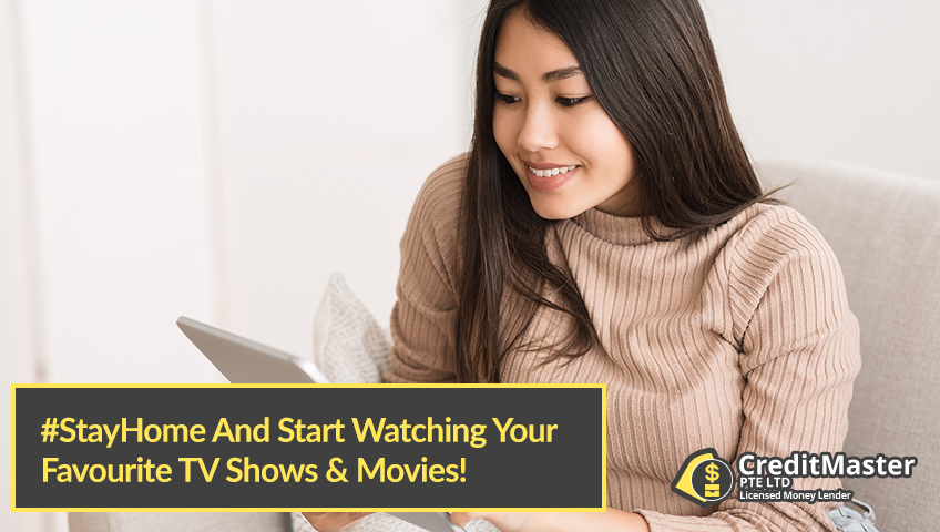 #StayHome And Start Watching Your Favourite TV Shows & Movies